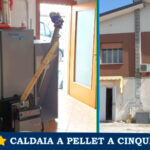 Installation of a new five-star pellet boiler in the province of Padua