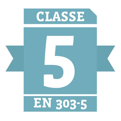 Caldaia a pellet certificata classe 5 EN 303-5